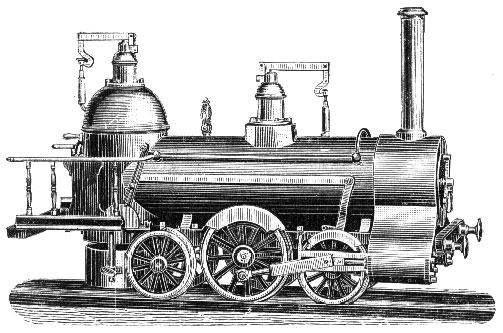 early steam railway draw