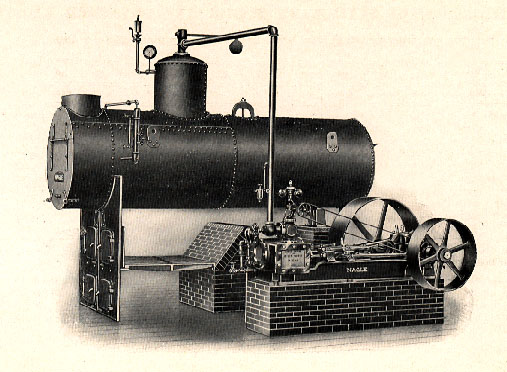 early stage steam engine